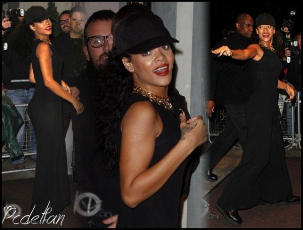 29/08/12 : Nouvelle sortie pour Rihanna à Londres