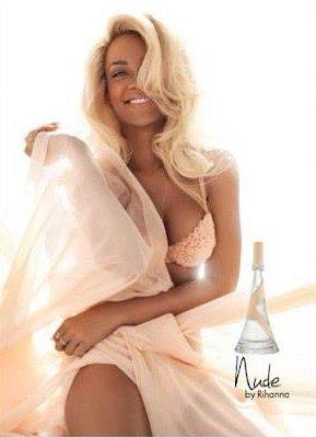 Photos Officeile du parfum  « NUDE » by Rihanna