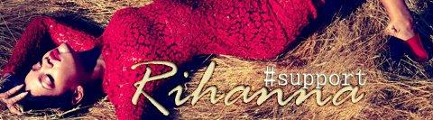#SupportRihanna