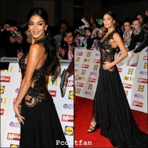 NICOLE SCHERZINGER AU  BRITAIN AWARDS 2012