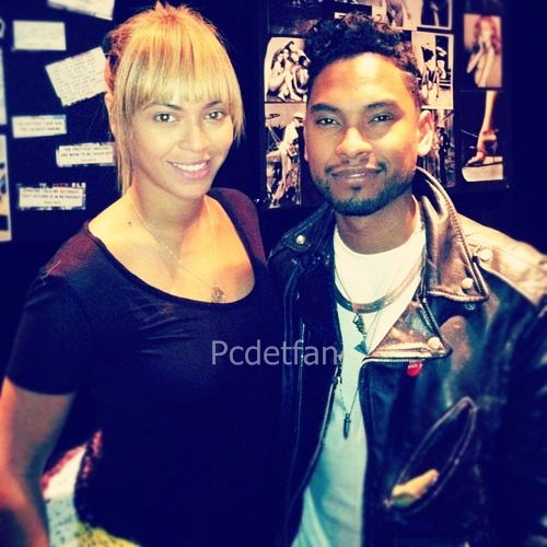 Beyoncé & Miguel en studio !
