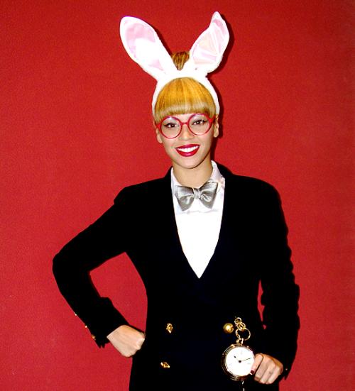 Voila une photo de Beyonce durant Halloween !
