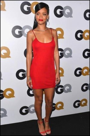 Rihanna au «GQ MEN OF THE YEAR PARTY»