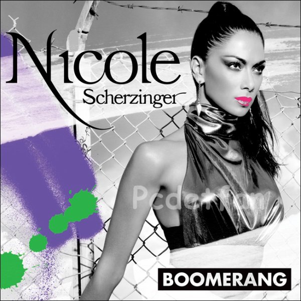 "Photo officiel du prochain single de Nicole ""Boomerang"""