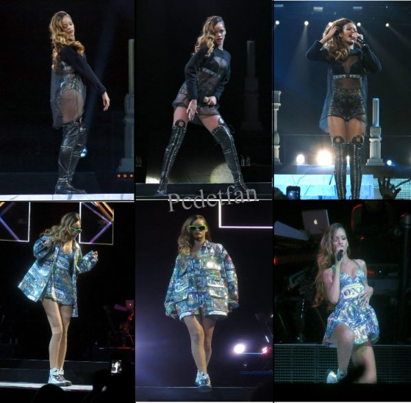 Rihanna « Diamonds World Tour  »