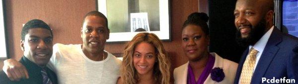 Beyoncé & Jay-z manifeste en hommage à Trayvon Martin