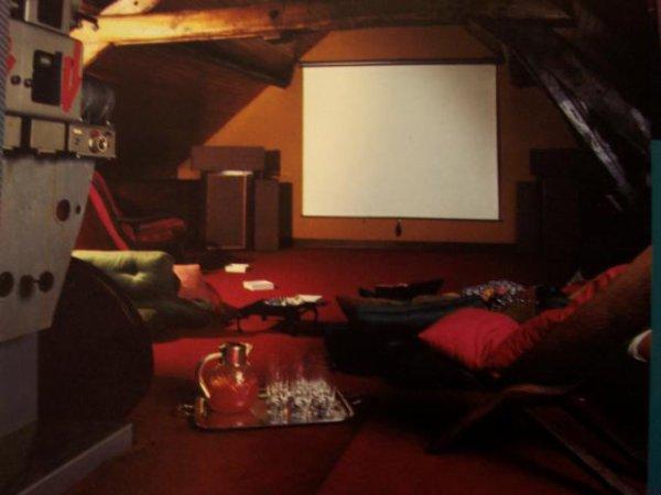 Le salon cinématique de Claude .