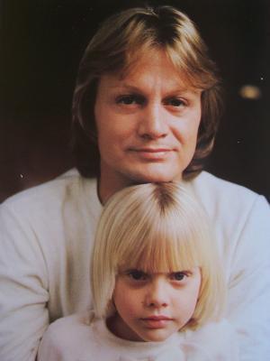 Claude et son fils Coco .