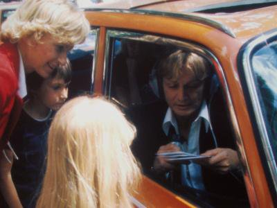 Claude-François et ses fans .