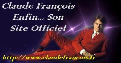 Site officiel de Claude-François .
