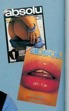 """ ABSOLU "" magazine érotique ."
