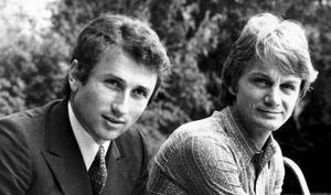 Claude-François et Michel Drucker .