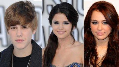 Justin Bieber VS Selena Gomez VS Miley Cyrus