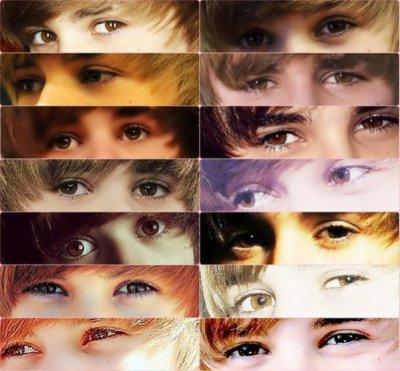 Yeux De Justin Bieber
