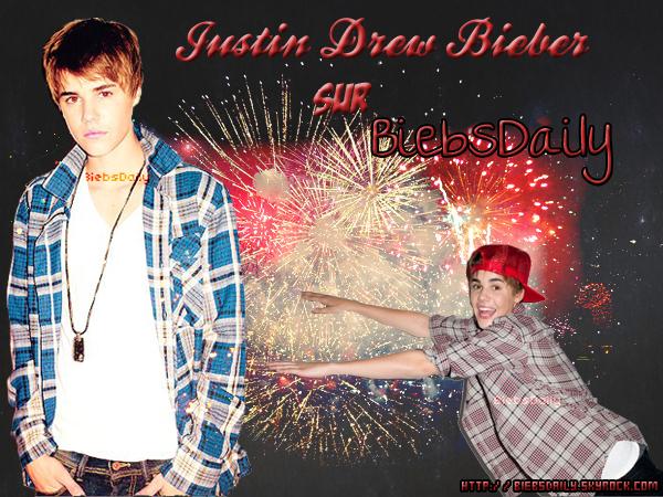 W W W . B i E B S D A i L Y . S K Y R O C K . C O M Tα source sur le tαlentueux Justin Drew Bieber !