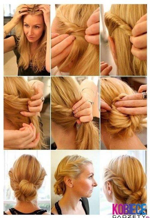 Diy coiffure n°1