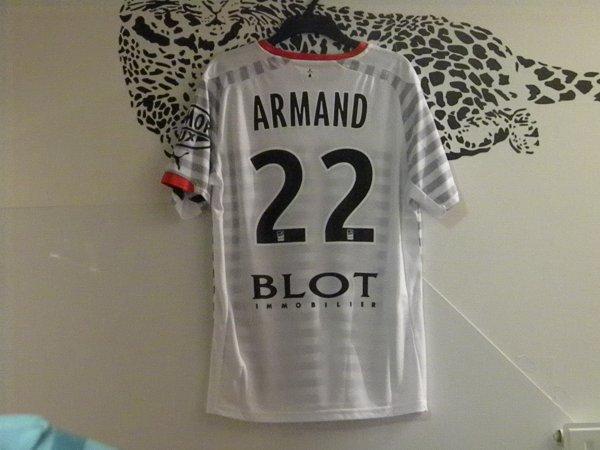 Sylvain Armand Stade Rennais N°22