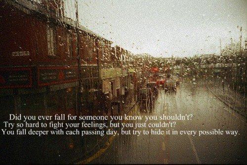 Gevoelens waar je geen recht op hebt, zijn het sterkst.