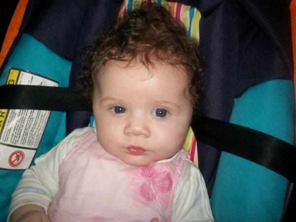 ma fille a4 mois passé