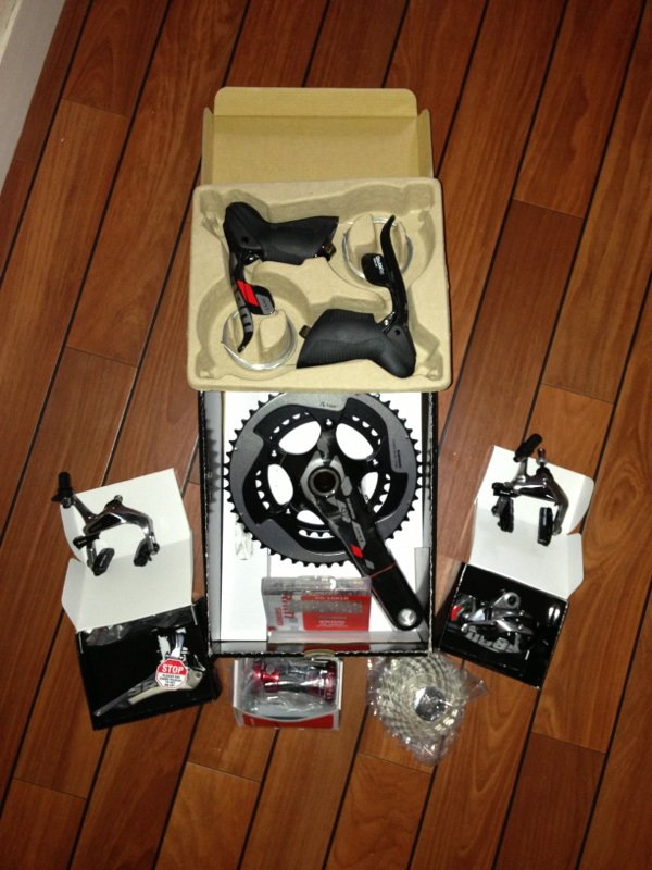 Futur vélo - groupe SRAM RED 2012