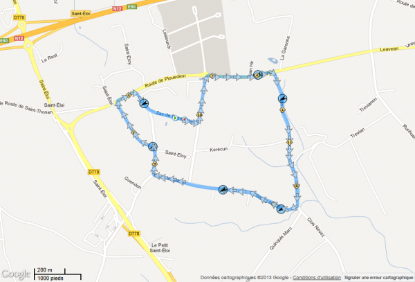Course FSGT du 24/03/2013