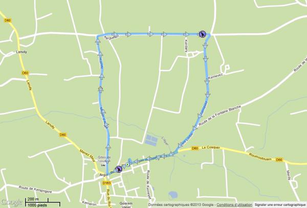Course FSGT du 07/04/2013