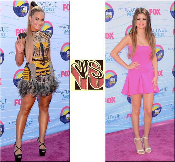 VS de Stars - Stars de Disney Demi Lovato VS Selena Gomez.