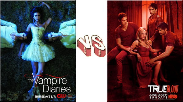 VS de Séries The Vampire Diaries VS True Blood.