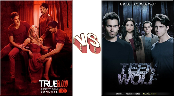 VS de Séries True Blood VS Teen Wolf.