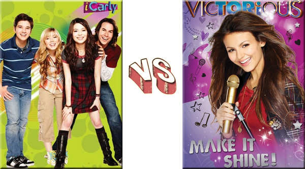 VS de Séries - Séries de Disney iCarly VS VictoriousProposé par: Margoulette09