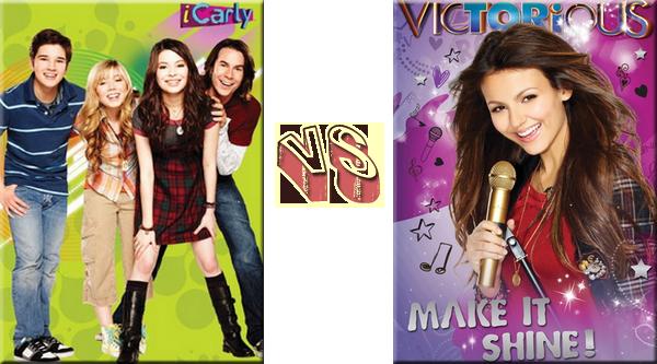 VS de Séries - Séries de Disney iCarly VS VictoriousProposé par: Margoulette09