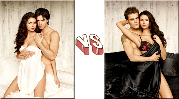 VS de Couples - Couple de Séries/Films Delena VS Stelena.