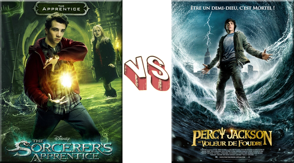 VS de Films L'Apprenti Sorcier VS Percy Jackson.