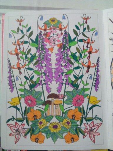 Aux sources du bien être,  jardins zen  coloriages Nini
