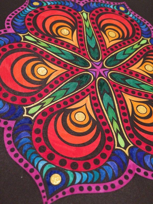 Mandalas : Kaleido color  Lauryne