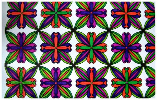 100 nouveaux coloriages anti stress.