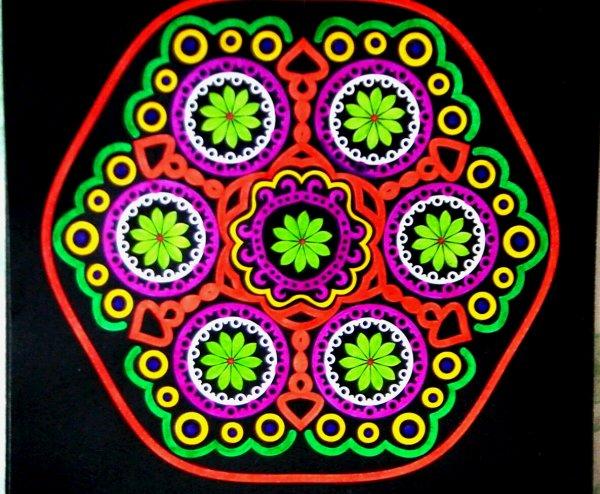 Mandalas : Kaleido color  Ticia