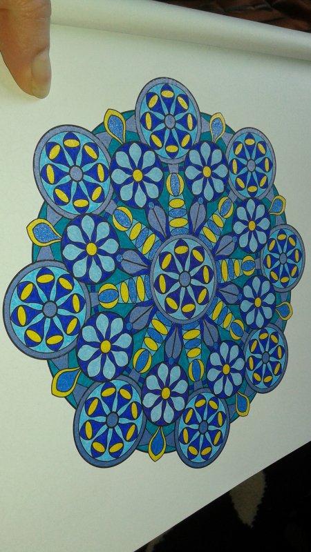 Mandalas art thérapie  Lucyle