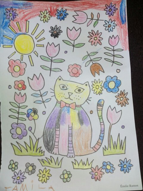 Coloriages de Mila