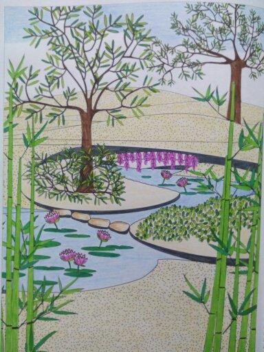 Au source du bien être,  jardins zen Nini