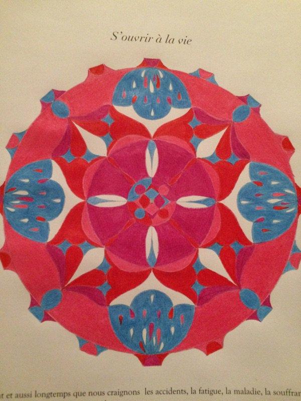 Mandalas : Le lâcher-prise coloriages Lauryne