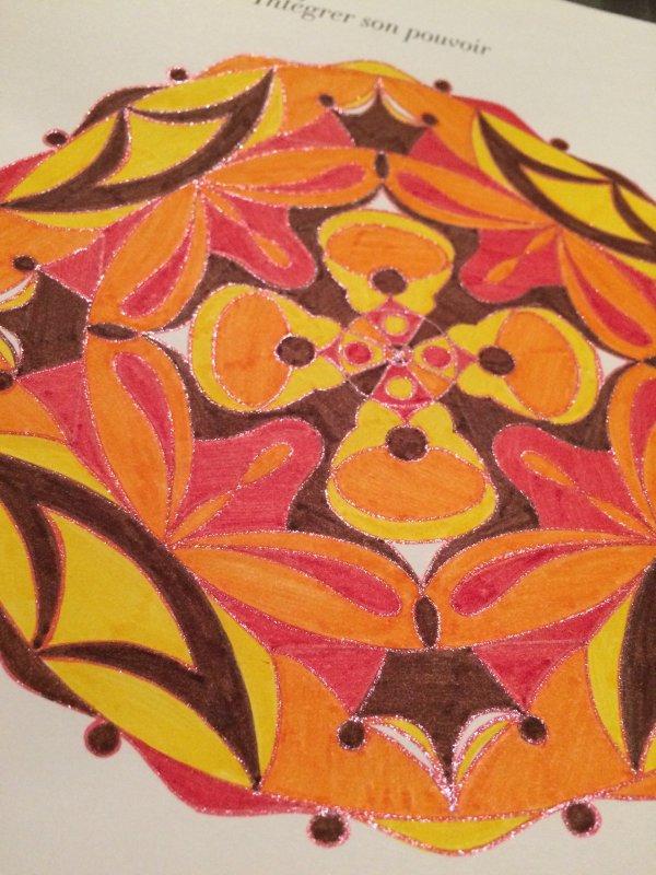 Mandalas : Le lâcher-prise. Coloriages Lauryne