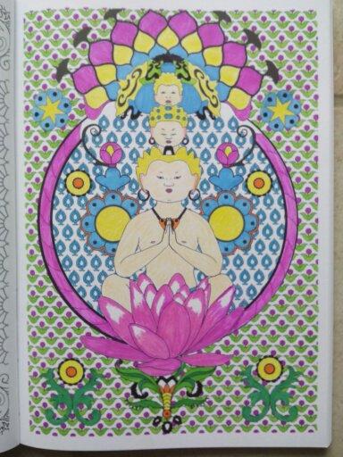 Art thérapie 100 mandalas anti-stress. Coloriage Nini