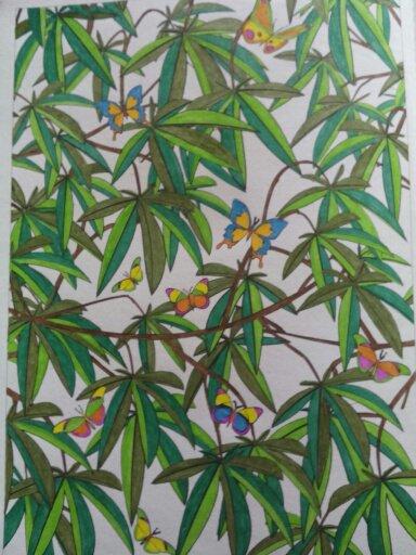 Au source du bien être,  jardins zen : les papillons. Coloriages Nini