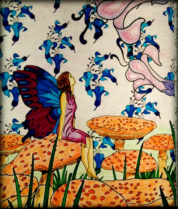 Art thérapie : forêts féeriques