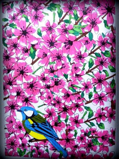 Art thérapie : aux sources du bien être ; jardins zen.  Coloriage Nini