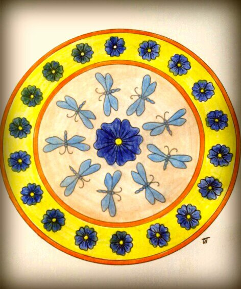 Mandala. Coloriage de Magnio
