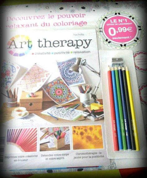 Art thérapie. Coloriage de Magnio