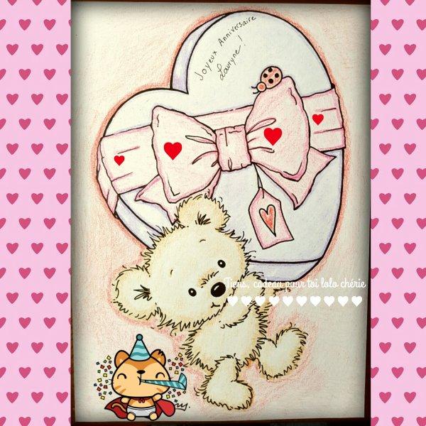 Joyeux Anniversaire Lolo Chérie♥♥♥♥