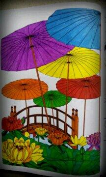 Art thérapie : jardins extraordinaires. Coloriage de Nini